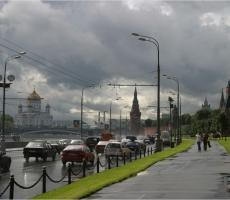 Москву накрыли аномальные ливни