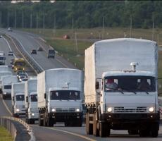 На Донбасс доставлена российская гуманитарная помощь
