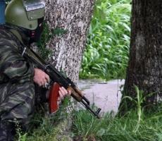 В Нальчике идёт штурм квартиры боевиков