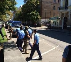 В харьковском ОГА есть угроза взрыва бомбы