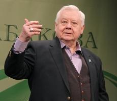 Президент России поздравил Олега Табакова с юбилеем