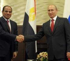 Владимир Путин провел встречу с Президентом Египта