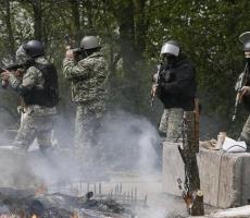 На Донбассе за сутки со стороны укранских силовиков было выпущено около 90 снарядов