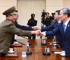 Военная напряженность между КНДР и Южной Кореей снизилась