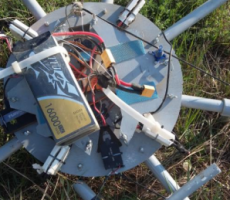 Беспилотник с контрабандой был сбит пограничниками Молдовы