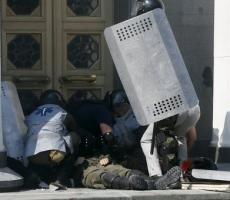 В центре Киева погиб солдат Национальной гвардии