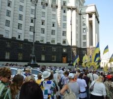 Киевляне массово требуют отставки Порошенко