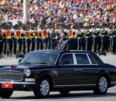 В Пекине прошел грандиозный парад по случаю окончания Второй мировой войны