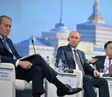 Владимир Путин принял участие в Первом Восточном экономическом форуме