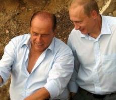 Сильвио Берлускони и Владимир Путин встретились в Крыму