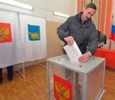 В России заканчивается голосование перед выборами в Государственную думу