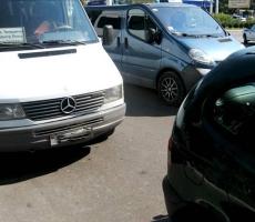 В Тирасполе пострадал маленький ребенок в результате аварии