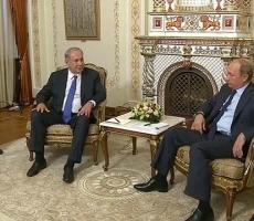 Владимир Путин провел переговоры с президентом Израиля