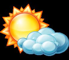Сегодня ожидается теплая малооблачная погода