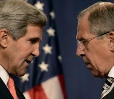 Сергей Лавров провел переговоры с госсекретарем Керри в Нью-Йорке