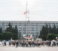 4 октября в центре Кишинева пройдет масшатбный митинг