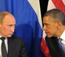 Барак Обама и Владимир Путин проводят переговоры в штаб-квартире ООН