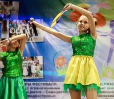 В Приднестровье прошел третий открытый фестиваль творчества детей с ограниченными возможностями