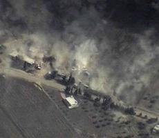 Российская авиация вновь нанесла удары по позициям ИГИЛ в Сирии