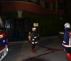 Здание посольства Украины в Турции загорелось вчера вечером