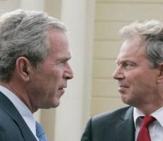 Вторжение в Ирак было тайно согласованно Бушом и Блэром в 2002 году