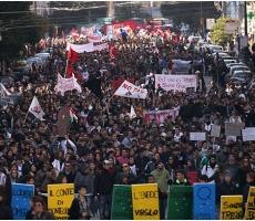 Минувшие выходные ознаменовались массовыми протестами в странах Евросоюза