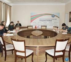 В МИД ПМР прошла встреча Виталия Игнатьева с Нилом Мартином