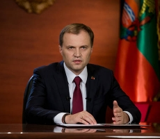 Президент Приднестровья Евгений Шевчук