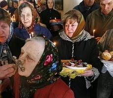 В России доминируют декоративные православные
