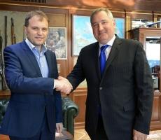 Евгений Шевчук провел встречу с Дмитрием Рогозиным