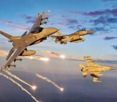 За последние трое суток российская авиация ликвидировала почти 450 объектов террористов