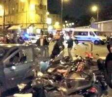 В Париже прогремели взрывы сразу в нескольких местах