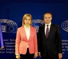 Глава Гагаузии посетила крупную международную конференцию в Брюсселе