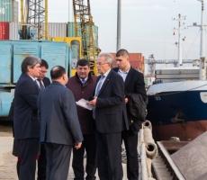Премьер Молдовы совершил рабочий визит в Джурджулештский международный свободный порт