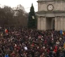 В Кишиневе прошла очередная акция протеста