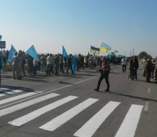 Очередной этап блокады Крыма - морская блокада