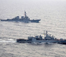 В Черном море прошли военно-морские учения с участием Украины, Турции, США и Румынии