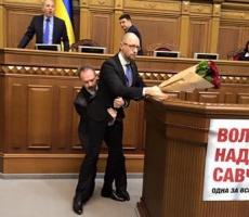 Премьера Украины Арсения Яценюка опозорили