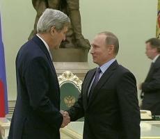"""В Кремле проходят переговоры между Владимиром Путиным и Джоном Керри за """"закрытыми дверями"""""""