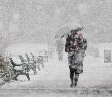 На Тирасполь обрушатся снегопад и сильные морозы