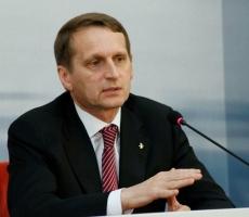 Нарышкин: представители России не поедут на сессию ПАСЕ