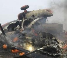 Крушение российского МИ-8 закончилось трагедией