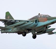 Российский пилот погиб при крушении штурмовика