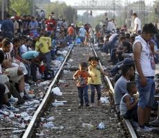 Страны Евросоюза не могут справиться с мигрантами