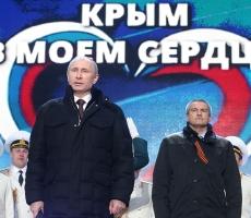 Путин: Россия и Крым вместе навсегда