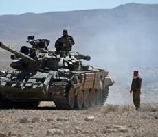 Сирийская армия сражаеться на улицах Пальмиры