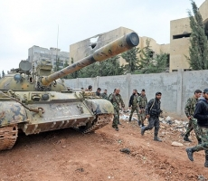 Боевики ИГИЛ бегут из Пальмиры