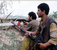 Азербайджанские военные вторглись в Нагорный-Карабах