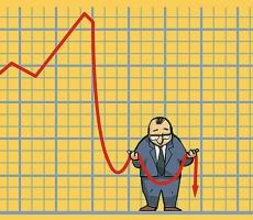 МВФ прогнозирует спад российской экономики