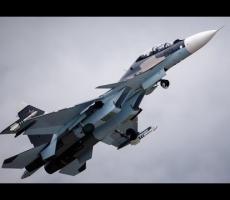 Американский самолет был перехвачен российским Су-27